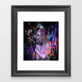 Inner Wave Framed Art Print