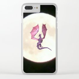 Moondragon 2 Clear iPhone Case