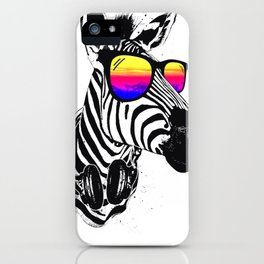 Cool Zebra iPhone Case