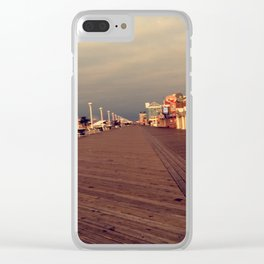 Boardwalk Clear iPhone Case