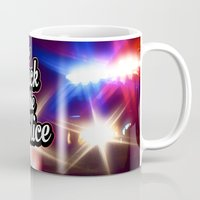 2pac Mugs featuring F*ck the police by Street Vandals