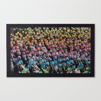talking heads Canvas Prints featuring Heads by Canson City