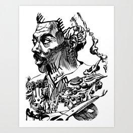 Eddie Murphy Project Art Print