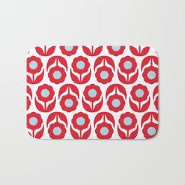 Joy collection - Red flowers Bath Mat