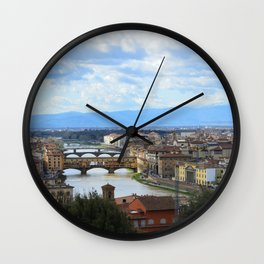 Florence- Italy Wall Clock