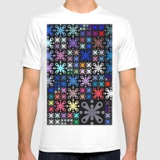 Color Party Mens Fitted Tee White MEDIUM