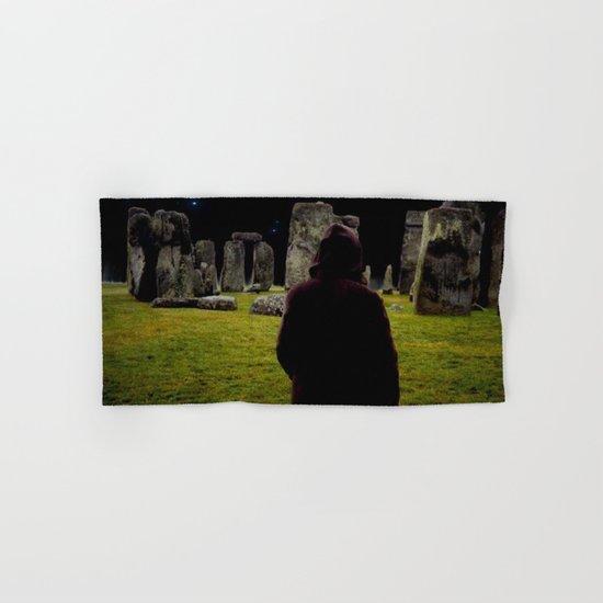 Druid Princess of Stonehenge Hand & Bath Towel
