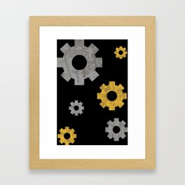 I feel rusted Framed Art Print