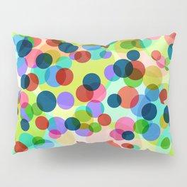 Dancing Bubbles Confetti Pillow Sham