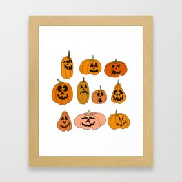 Jacks of all shapes and sizes Framed Art Print