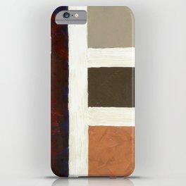 Textured Cubism -Modern Art - Color Blocking Art - Hospitality Art - Corbin Henry iPhone Case