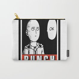 One Punch Obey Carry-All Pouch