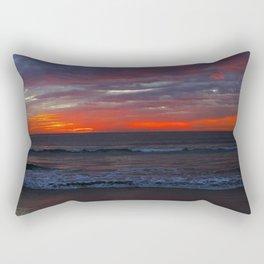 Warm Horizon Rectangular Pillow