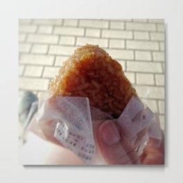 Snack Time in Tokyo Metal Print