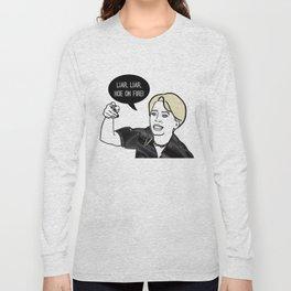 Liar Liar Long Sleeve T-shirt