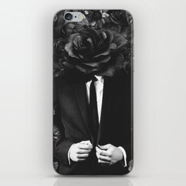flower banking iPhone Skin