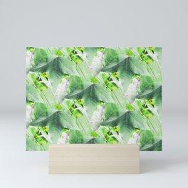 A Delicate Sweetgum Leaf - IA Mini Art Print