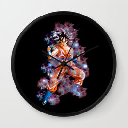 Super Saiyan Goku Wall Clock