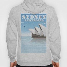 Sydney Australia Travel poster Hoody