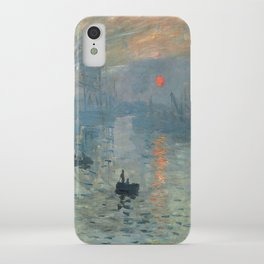 Claude Monet – Impression soleil levant – impression sunrise iPhone Case
