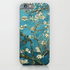 Blossoming Almond Trees, Vincent van Gogh. Famous vintage fine art. Slim Case iPhone 6