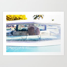 In The Caddy Art Print