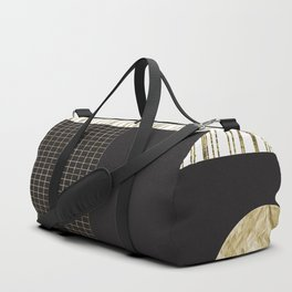 Touch Of Gold - Abstract Series 2 Duffle Bag