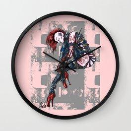 Punk Dancer Wall Clock