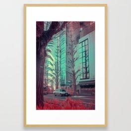 Infrapink 05 Framed Art Print