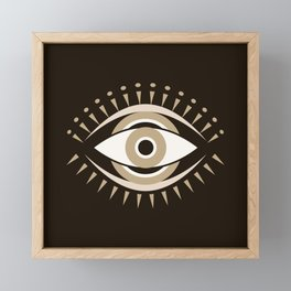 Mystic Evil Eye Framed Mini Art Print