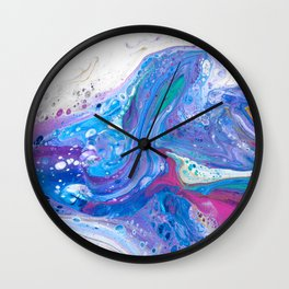 Whale Leap Wall Clock
