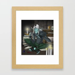 The Old Timer Framed Art Print