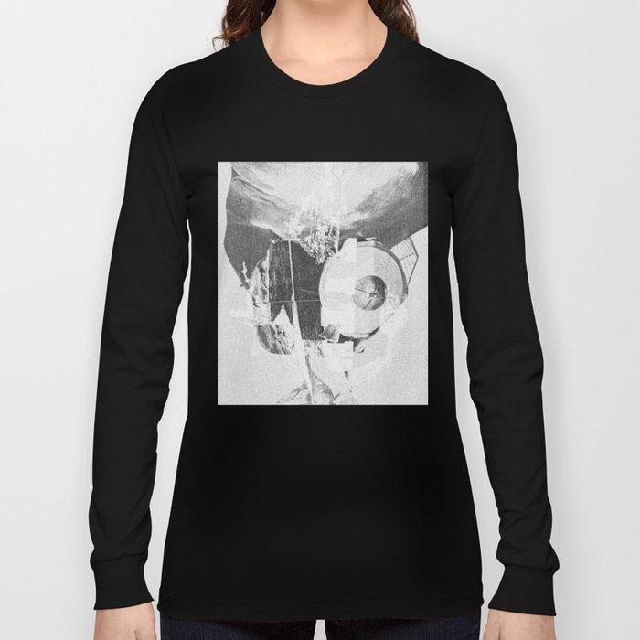 When B, grey Long Sleeve T-shirt