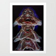 Julia Centipede Art Print