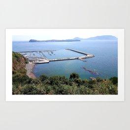 Naples,Italy-Monte Di Procida Art Print