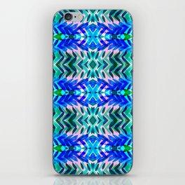 Tropical Blue iPhone Skin