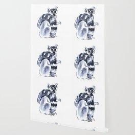Funny cute lemur Wallpaper