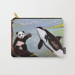 Panda & Orca Carry-All Pouch