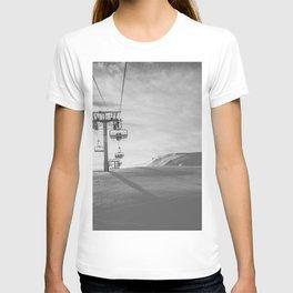 Alps ski lifts T-shirt