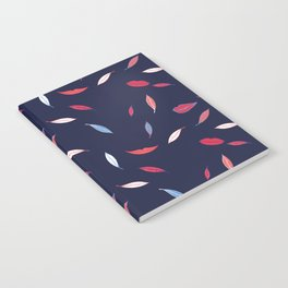 Lips & Leaves Notebook