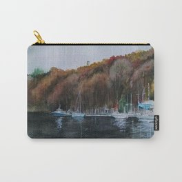 Harbor on the Thames River, CT Carry-All Pouch