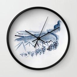 Untitled - lido Wall Clock