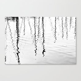 Ripples And Reflections 1 Canvas Print