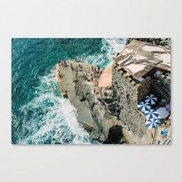 "Travel photography print ""Rocky Beach"" photo art made in Italy. Art Print Canvas Print"