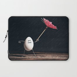 Not Egg-actly Nice Weather Laptop Sleeve