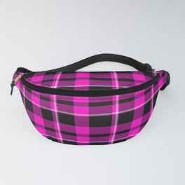 Hot Pink Plaid Fanny Pack
