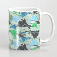 nouveau Mugs featuring Nouveau Nouveau by Jacqueline Maldonado