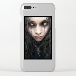 From the Shadows Clear iPhone Case