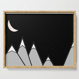 Mountain Scape Serving Tray