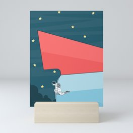 Space Ship Mini Art Print
